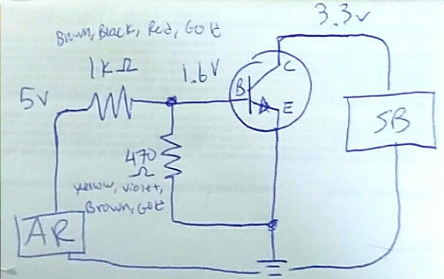 Soundboard Trigger Schematic