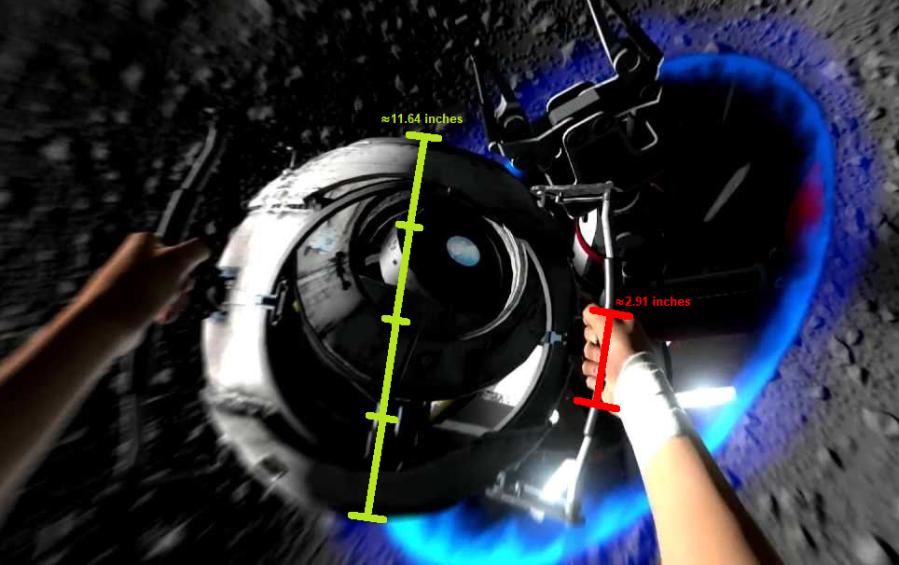 Portal 2 Ending Core Size